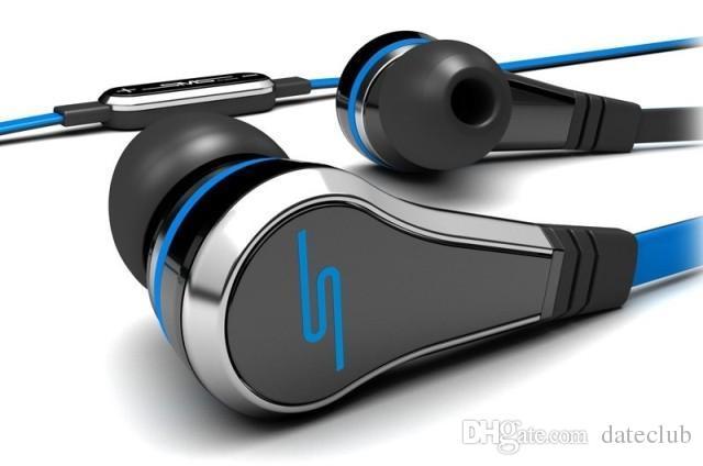 mini 50 Cent Ecouteurs SMS Audio Street par 50 Cent Casque avec Micro Écouteurs In-Ear 50Cent Écouteurs pour Mp3 Mp4 téléphone tablette