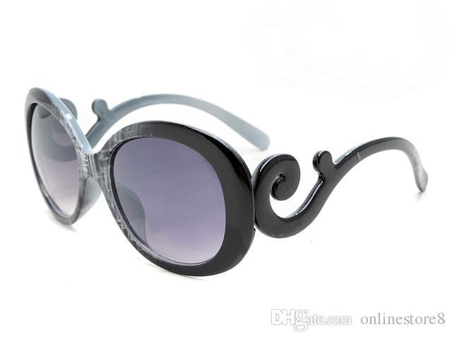 عالية الجودة الفاخرة خمر إيطاليا مصمم العلامة التجارية ظلال أزياء النظارات الشمسية المستديرة للنساء السيدات نظارات في الهواء الطلق مع صناديق القضية الأصلية