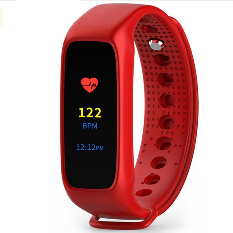 L30t Bluetooth Smart Band Heart Rate Monitor Full Color TFT-LCD Screen Smartband For IOS Android Free Shipping