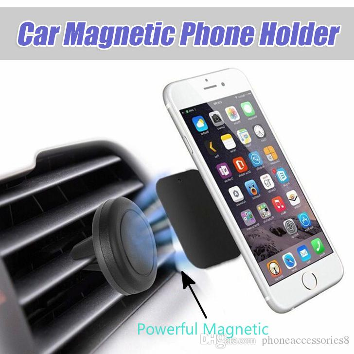 Magnetic Cell Phone Mount >> Car Holder Mini Air Vent Mount Magnet Magnetic Cell Phone Mobile Holder Universal For Iphone 6 6s 7 Bracket Stand Support