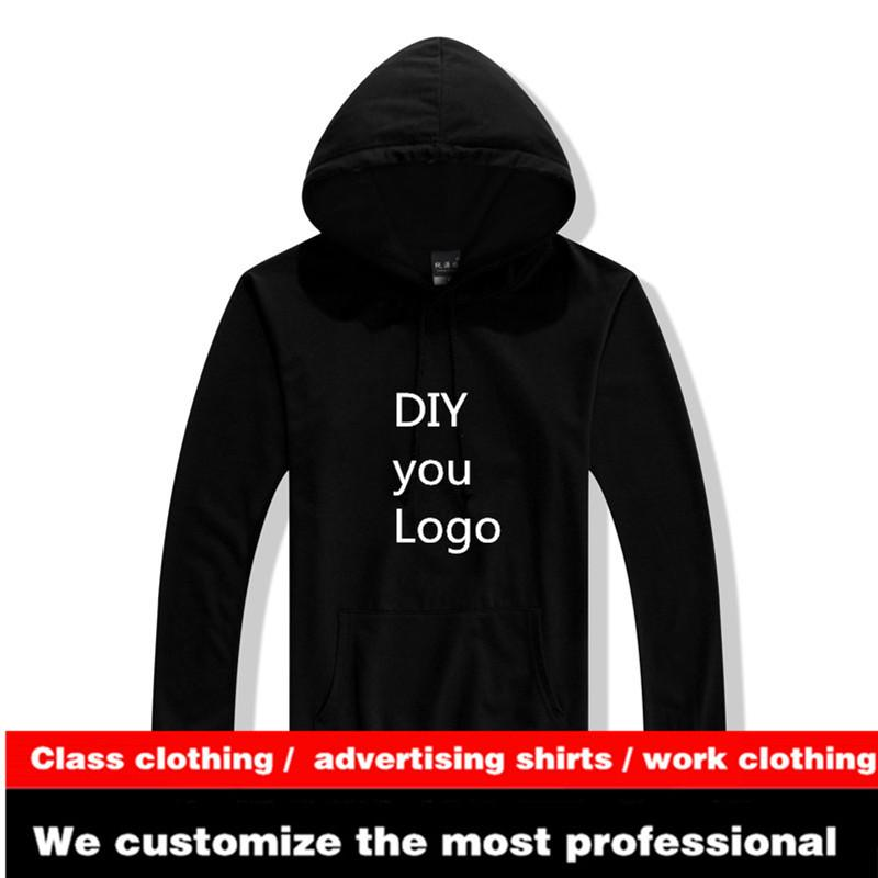 4e485466 2019 Wholesale 350G Hooded DIY Your Own Logo Print Plain Embroidery Stitch  Sew Promotion Patchwork Personalized Logo From Felix06, $31.29 | DHgate.Com