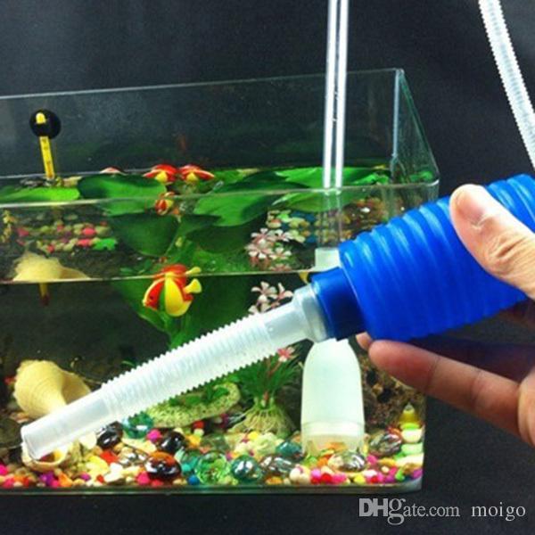 FishAquatic Pet Supplies Tanques Água Mudança Pump Tank Aquarium Cleaning Tool