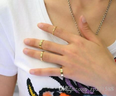 Women Simple Plain Band Knuckle Midi Rings Urban Gold stack Plain Cute Above Knuckle Nail Ring Christmas Gift Jewelry Bijoux Accessories