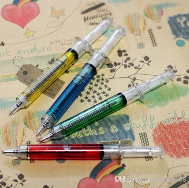Nice Doctor Infirmière Cadeau Seringue Liquide Injection Stylo À Bille Ballpen G642