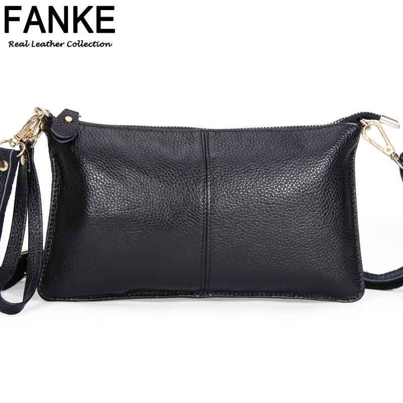 194ce570fc8 Wholesale- Designer Fashion 100% Genuine Leather Envelope Clutch Designer  Handbags High Quality Crossbody Womens Female Clutch Evening Bags Bag  Tablet ...