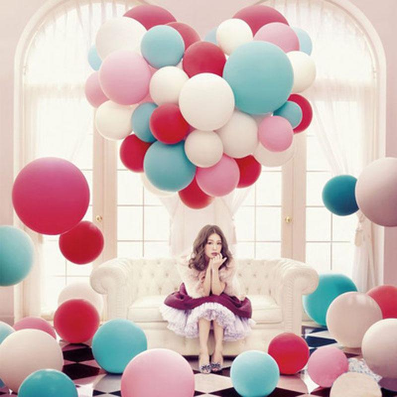 36 Inch Big Round Latex Balloon Wedding