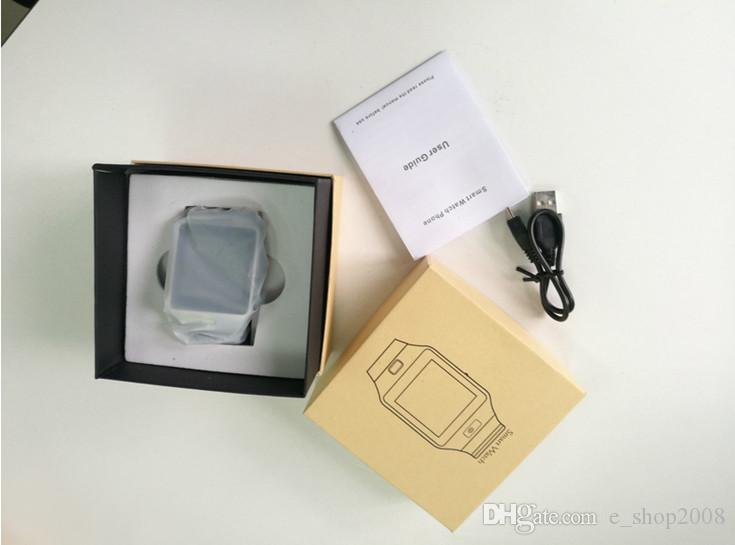 DZ09 Bluetooth Smart Watch SmartWatch для мобильного телефона Apple Samsung IOS Android 1.56 дюймов