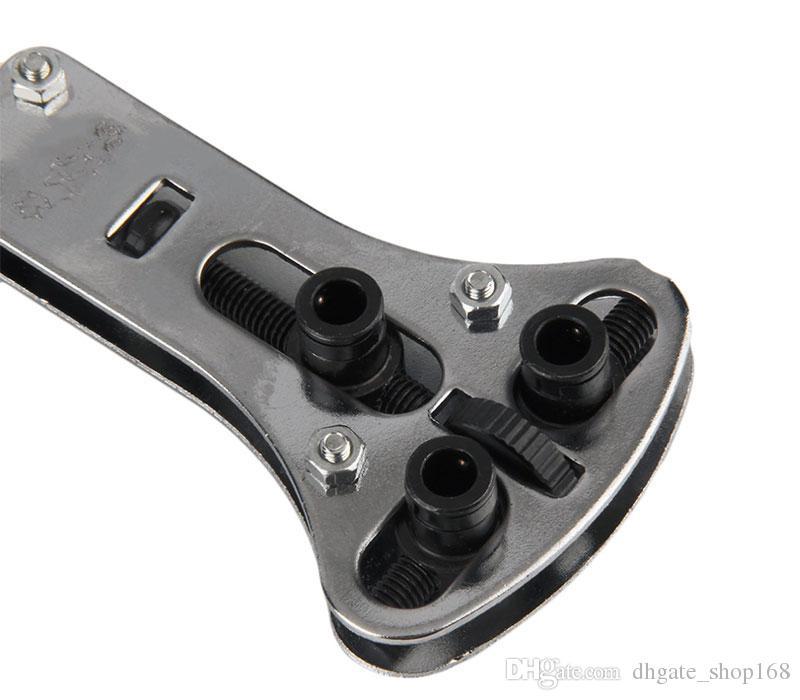 스테인레스 스틸 조절 시계 다시 케이스 커버 오프너 리무버 렌치 수리 키트 도구 18 개 교체 부품 핀