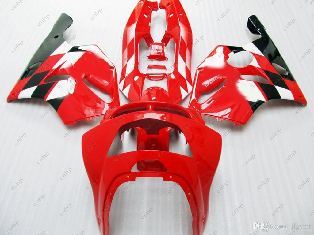 Fairing Kits for Kawasaki Zx6r 1994 Body Kits Zx6r 1997 Red Black ABS Fairing 636 Zx-6r 1996 1994 - 1997