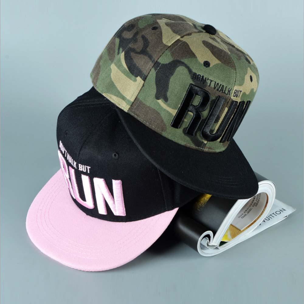 3d679c61e89 Wholesale 2017 New Runing Letter Snapback Baseball Cap Camouflage Hip Hop  Hat For Men Women Street Dance Fashion Aba Reta Pink Cool Hats Lids Hats  From ...