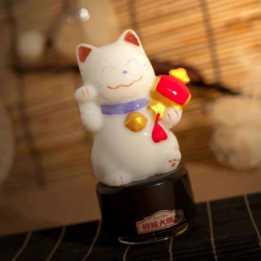2019 Japanese Cat Music Box My Birthday Gift To Send Girls Creative Bestie Home Furnishing Car Decoration From Du14 6835