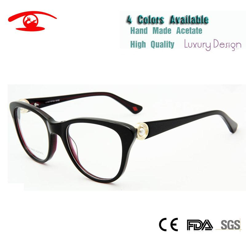 b8fc9709bc Wholesale Fashion Womens Glasses Frames High Quality Clear Lens Glasses  Luxury Pearl Decorative Glass Women UK 2019 From Enchanting11