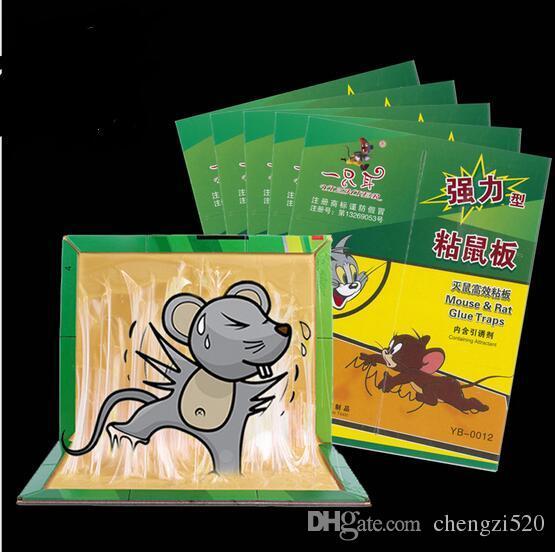 لوحة الماوس الفئران لزجة لزجة لوحة الفئران عصا الفئران الغراء مصيدة فئران deratization CYB32