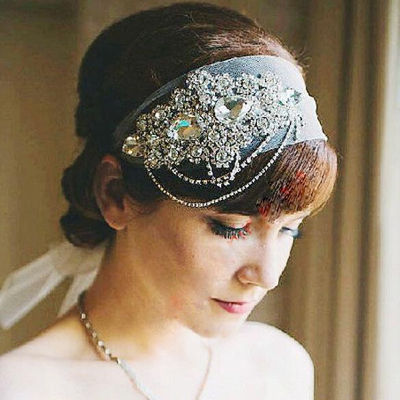 Exquisite Crystal Bridal Hair Accessories Wedding Headpieces 2017