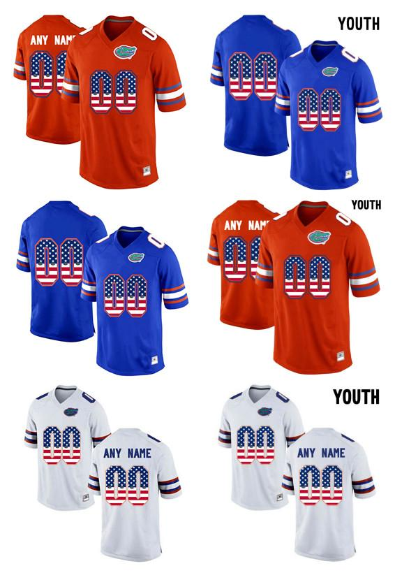 e498d175c378ab ... spain jersey 2017 2017 youth us flag fashion men florida gators  customized any name any number