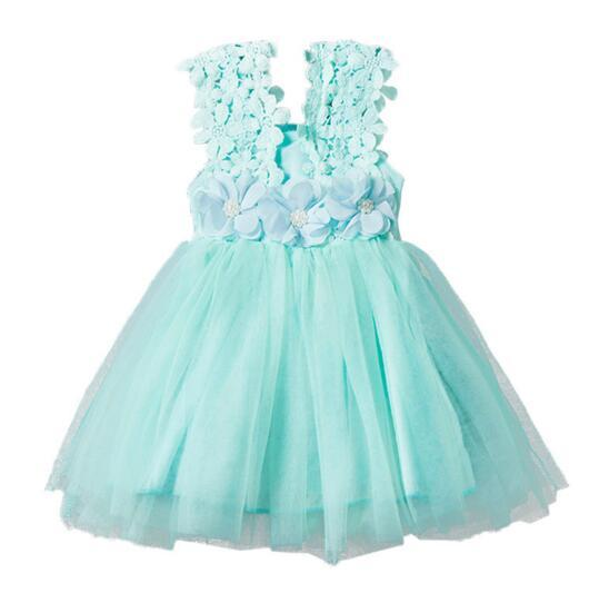 Bébé Filles Vêtements Dentelle Tutu Robes Enfants Robes De Princesse pour Enfants Vêtements 2017 D'été Fête Robe Vêtements Mode