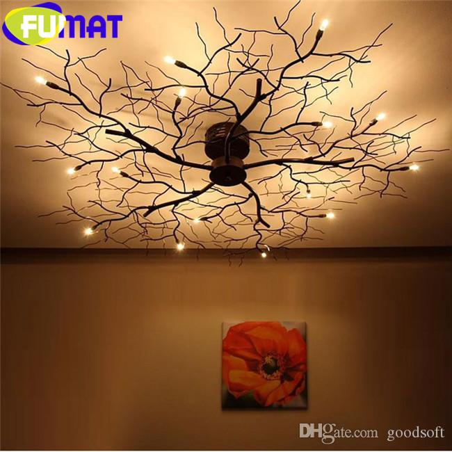 branch chandelier lighting. online cheap fumat modern branch chandelier globe creative black metal twig ceiling lamp office living room light dia 50cm pendant by goodsoft lighting