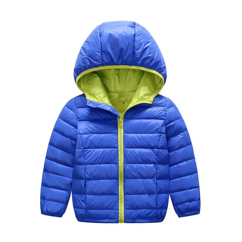 2016 Boys &Amp;Girls Winter Jacket Thick Girls White Duck Down ...