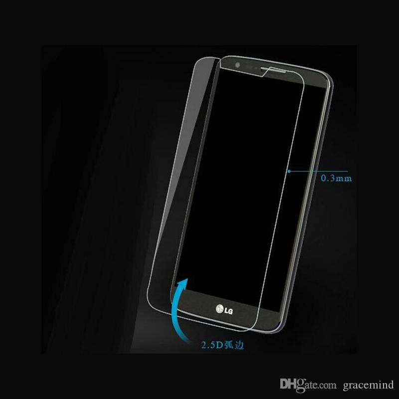For LG G Flex Explosion proof LCD Clear Tempered Glass Transparent Ultra thin Screen Protector Film
