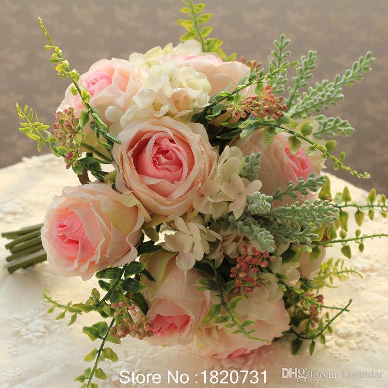 Pink silk flowers peonies wedding bouquet roses for sale bridal pink silk flowers peonies wedding bouquet roses for sale bridal bouquet bridesmaid holding flowers decoration rustic wedding flowers in a box wedding mightylinksfo