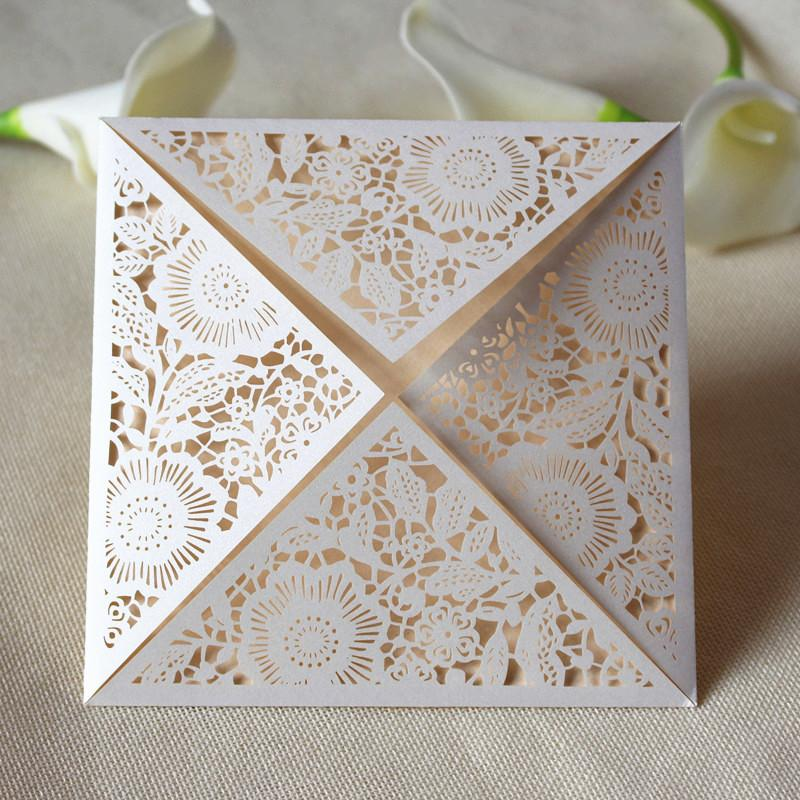 Wed invitation white laser folded party invitation box valentines wed invitation white laser folded party invitation box valentines thanksgiving birthday invitation card wedding invitations free ship wedding invitation filmwisefo