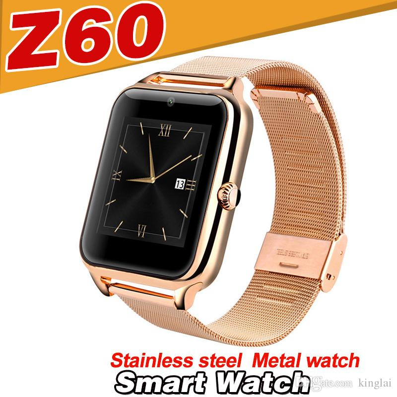 best z60 smart watch bluetooth mobile phone smart watches. Black Bedroom Furniture Sets. Home Design Ideas