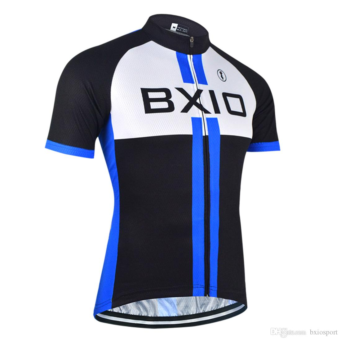 bc5e1f092 BXIO Cycling Jersey Short Sleeve Bike Jersey Summer Bicycle Clothes Men Own  Brand Design Cycling Clothing Verano Ropa Ciclismo BX 089 J Cycling Shorts  Long ...