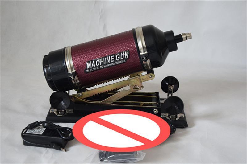 Brand New Large giapponese automatico regolabile mitragliatrice masturbazione femminile con vibratore dildo; Velocità: 0-415 volte / minuto