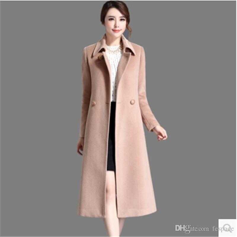2017 Wholesale High Grade Wool Coat Women Cashmere Coat Mew Style ...