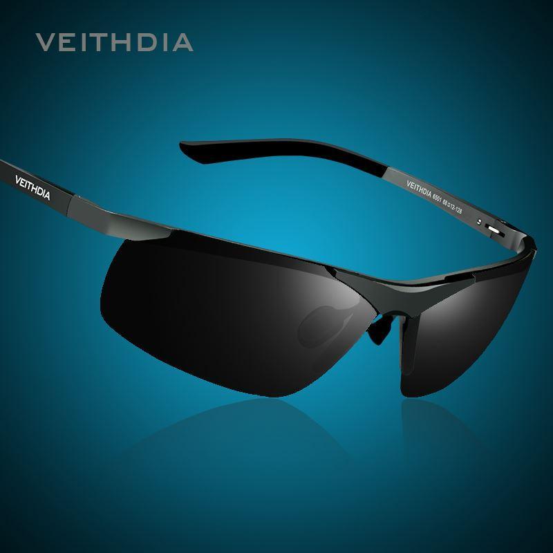 39579978cd VEITHDIA Brand Alumunum Men s Polarized UV400 Mirror Sunglasses ...