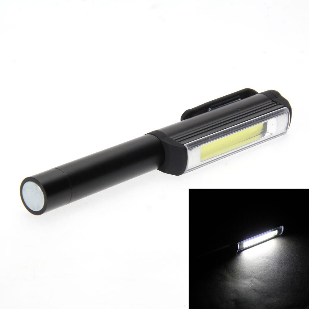 300LM en aluminium LED COB stylo lampe lampe de travail d'inspection magnétique lampe de travail docteur en médecine d'urgence réutilisable