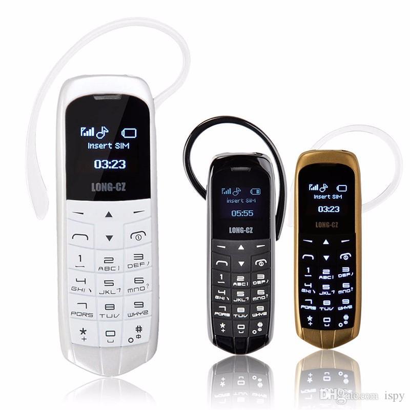 LONG-CZ J8 إفتح الهاتف المحمول مصغرة بلوتوث المسجل سماعة 0.66 بوصة بطاقة SIM واحدة MP3 الرسائل القصيرة منخفضة الإشعاع الهواتف المحمولة