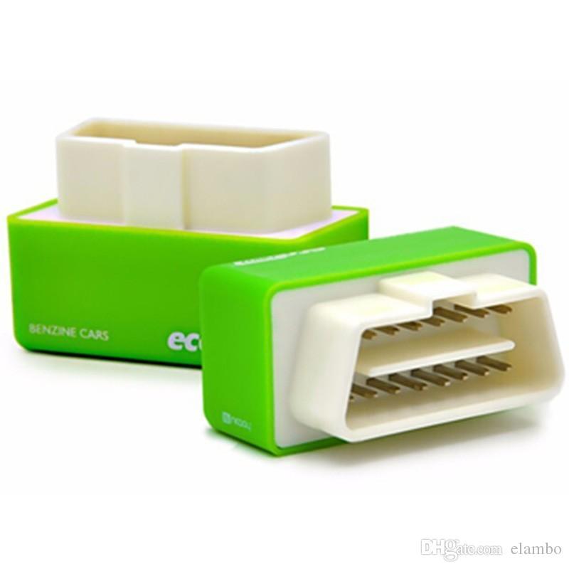 BENZINE Arabalar Fabrika Fiyat için EcoOBD2 Ekonomi Chip Tuning Kutusu Sürücü NitroOBD2 Performans Chip Tuning Kutusu