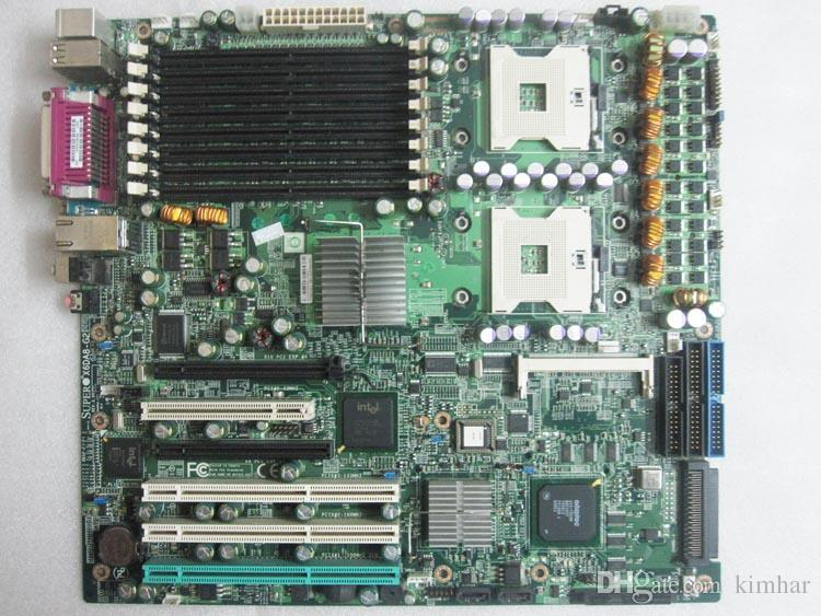 For Industrial equipment workstation board SUPER X6DA8-G2 REV 3.00 with dual xeon 604 socket and scsi 68 pin raid interface