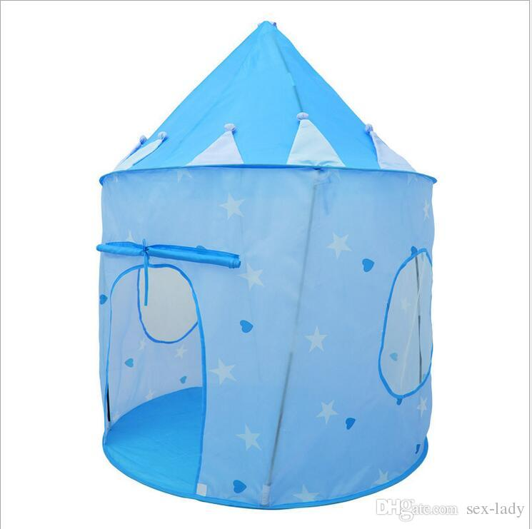 Kids Play Tents Prince and Princess Party Tent Children Indoor Outdoor tent Game House for Choose