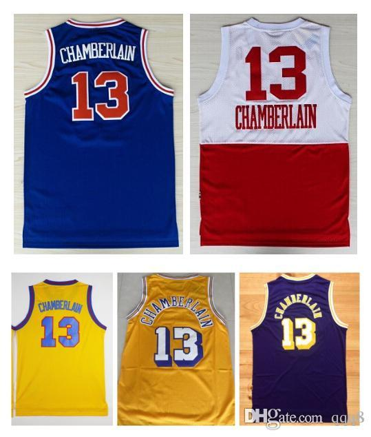 separation shoes 799e5 54291 13 wilt chamberlain jersey manufacturing