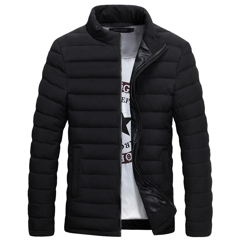2018 Wholesale New Trend Black Winter Jacket Men Doudoune Homme ...