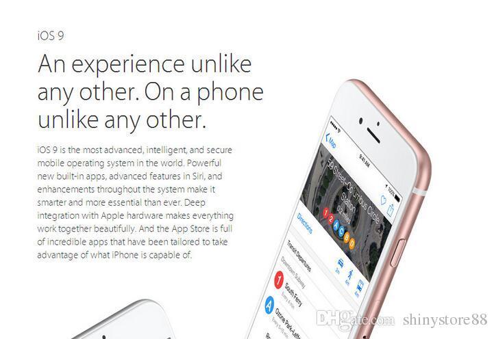 تجديد الهاتف الخليوي الأصلي مقفلة أبل 6S فون 5.5 بوصة 16GB / 64GB / 128GB ثنائي النواة دائرة الرقابة الداخلية 11 مع معرف اللمس