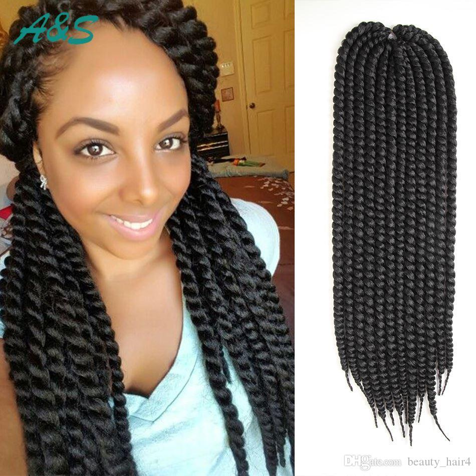 Beautiful Crochet Braids Hair Extension Soft Locs 3d Cubic Twist