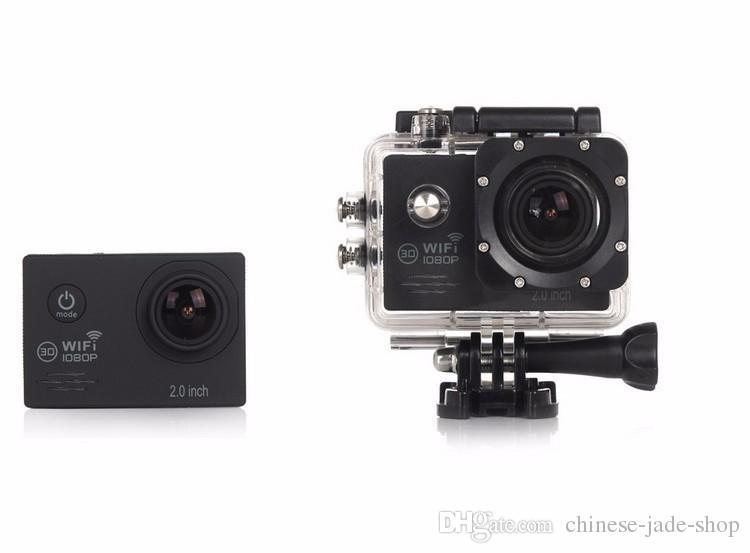 SJ7000 Acción Cámara WiFi 1080P Full HD 2.0 LCD HD 30m 170D Impermeable DV video Deporte Extreme Go Pro Recorder /