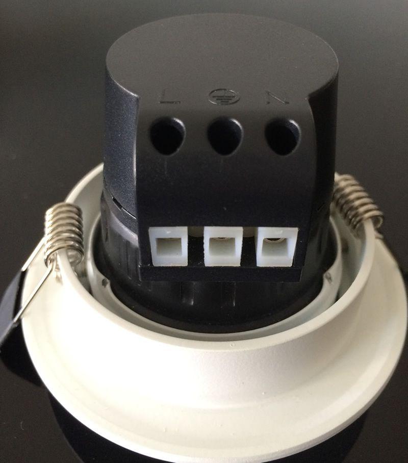 Süper Parlak Gömme LED Kısılabilir Değil Sıva Altı COB 7 W 10 W LED Spot işık LED dekorasyon Tavan Lambası AC 110 V 220 V + Sürücüler CE