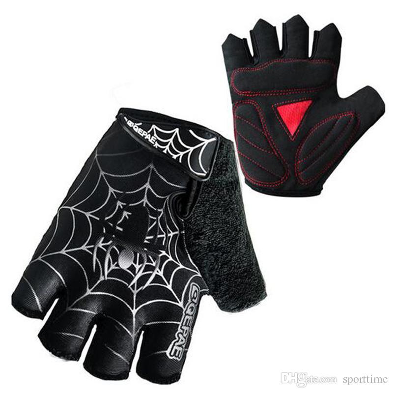 Mountain Bike Short Finger Gloves Summer Bike Semi - Finger Gloves Professional Outdoor Sports Semi-finger Riding Gloves