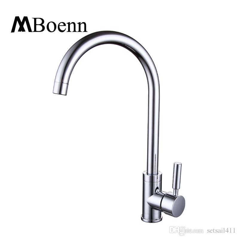 2018 Mboenn Kitchen Hot Cold Faucets Sink Pots Water Faucet Tap ...
