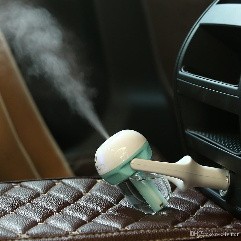 Humidificateur Diffuseur De Voiture - Mini Voiture Portable Aromathérapie Humidificateur Air Diffuseur Purificateur Diffuseur D'huile Essentielle Véhicule Alimentation