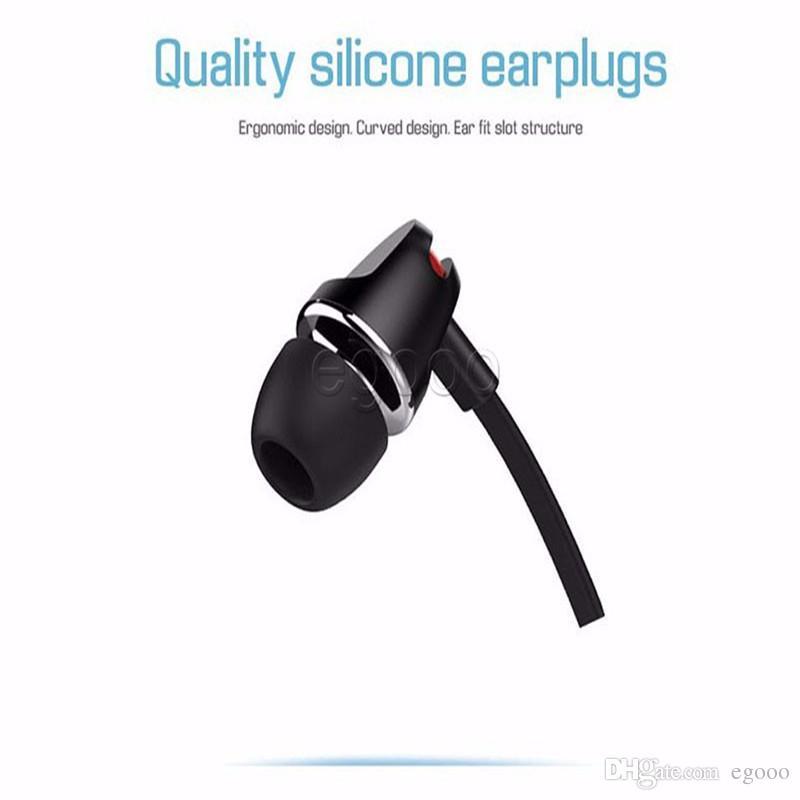 Langsdom JV23 Volume Eaphone de controle com o Mic para o Samsung Mobile Phone com Pacote Retail