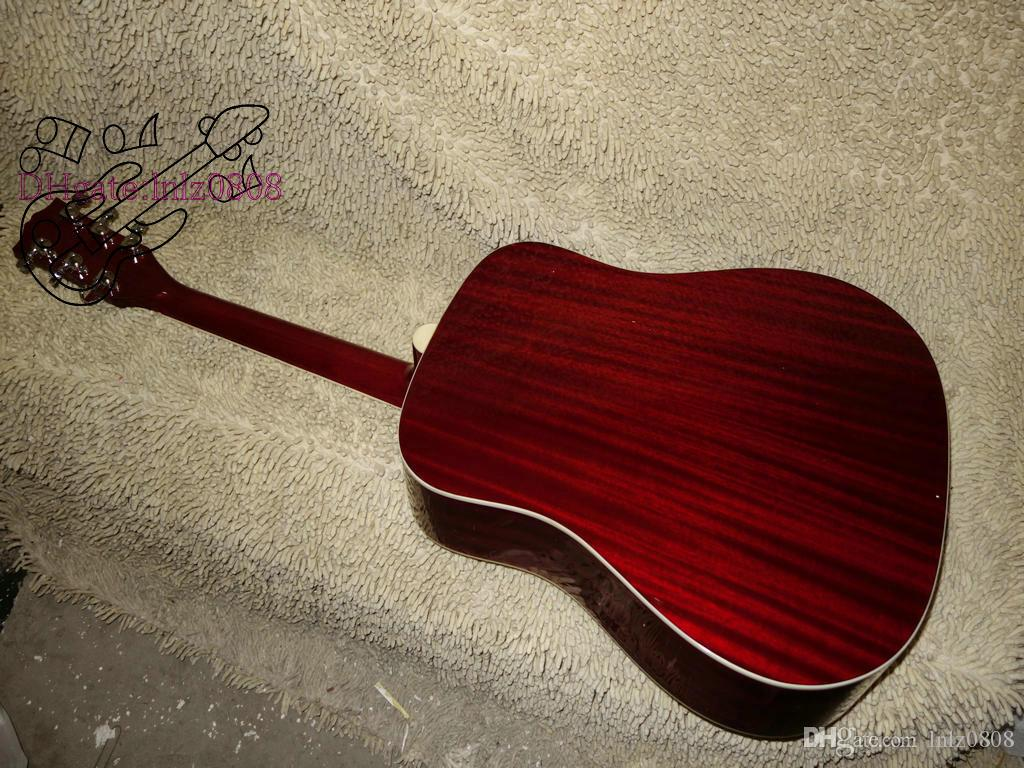 New Arrival 허니 버스트 Acoustic Guitar Best 악기 무료 배송