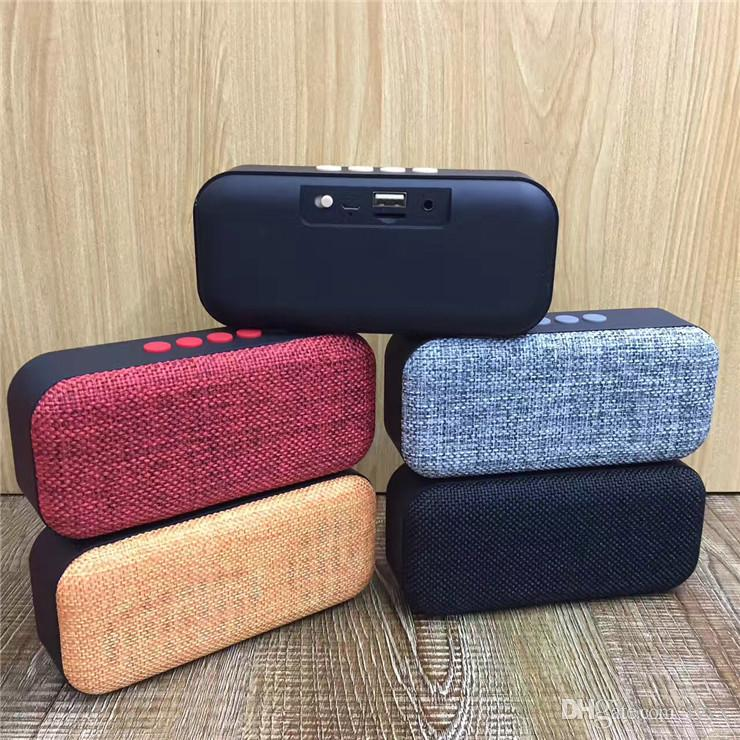 Factory Direct Wireless Bluetooth Card Speaker Mesh Cloth TG-024 Car Bass Steel Gun Mini Speaker Bluetooth Audio, High Quality,