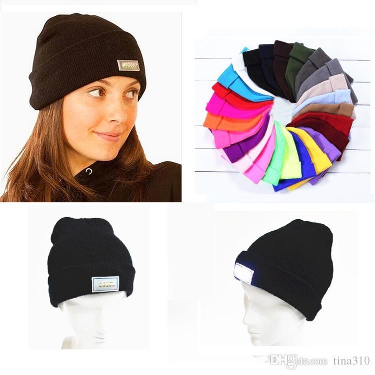c893e2d0 New Adult Led Winter Beanies Led Light Beanies Hats Knitted Caps Warm Beanies  Led Beanie Crochet Lighting Caps B0878 Cool Beanies Beanie Caps From  Tina310, ...
