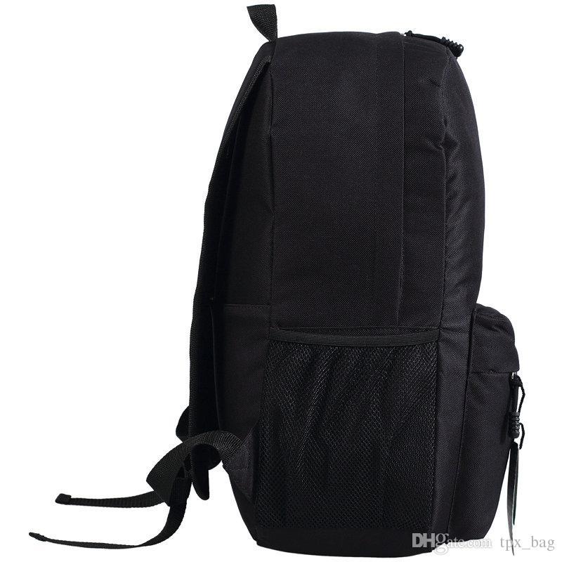 Oasis sırt çantası Şimdi burada daypack rock grubu çantanı Müzik sırt çantası Spor okul çantası Açık gün paketi