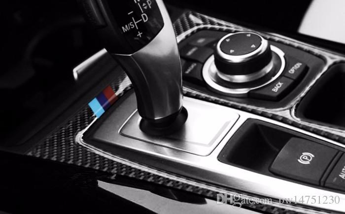 online cheap carbon fiber interior control gear shift frame cover trim for bmw x5 e70 x6 e71 air. Black Bedroom Furniture Sets. Home Design Ideas